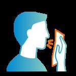 Infos COVID-19 : toussez dans votre coude ou dans un mouchoir