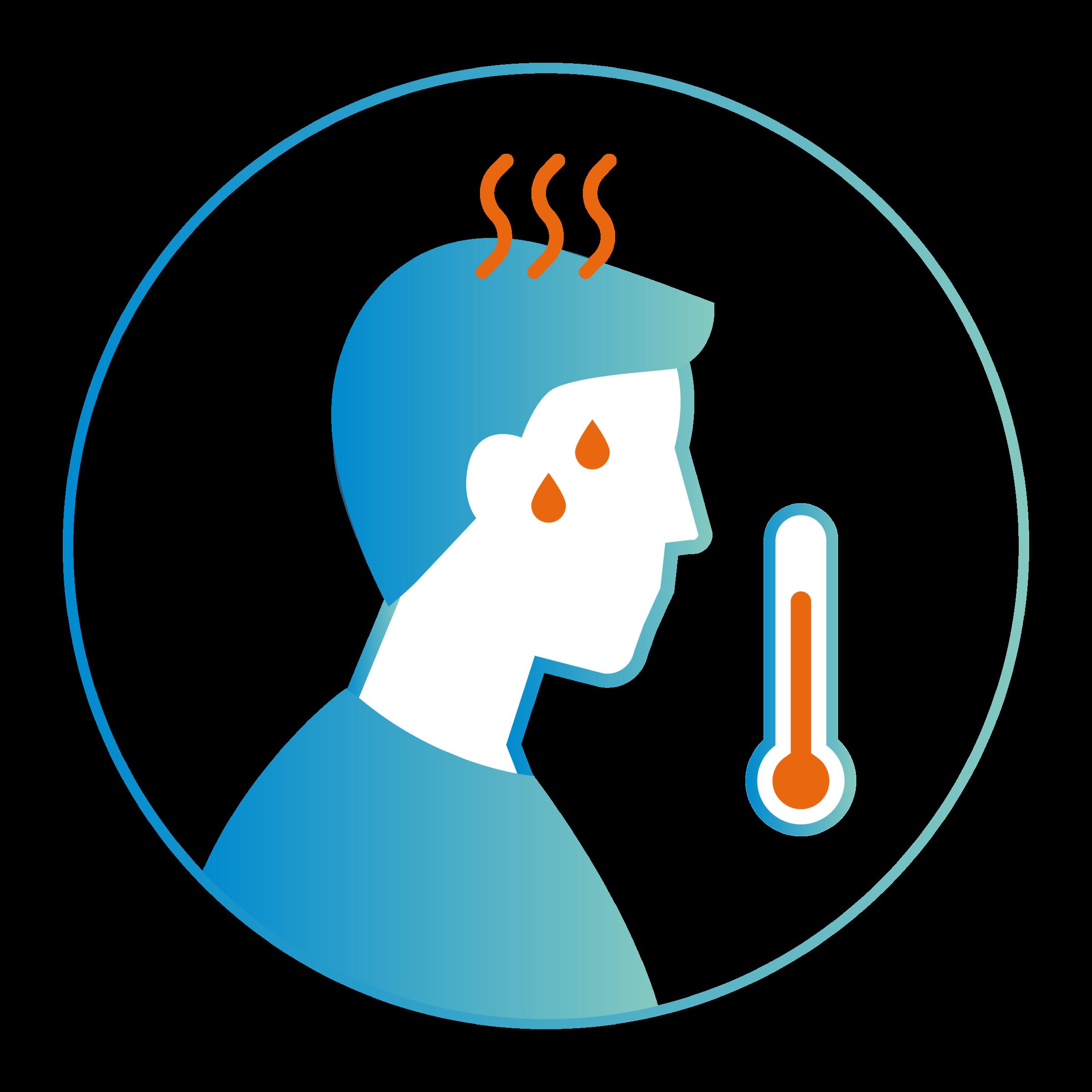 Symptômes coronavirus : fièvre