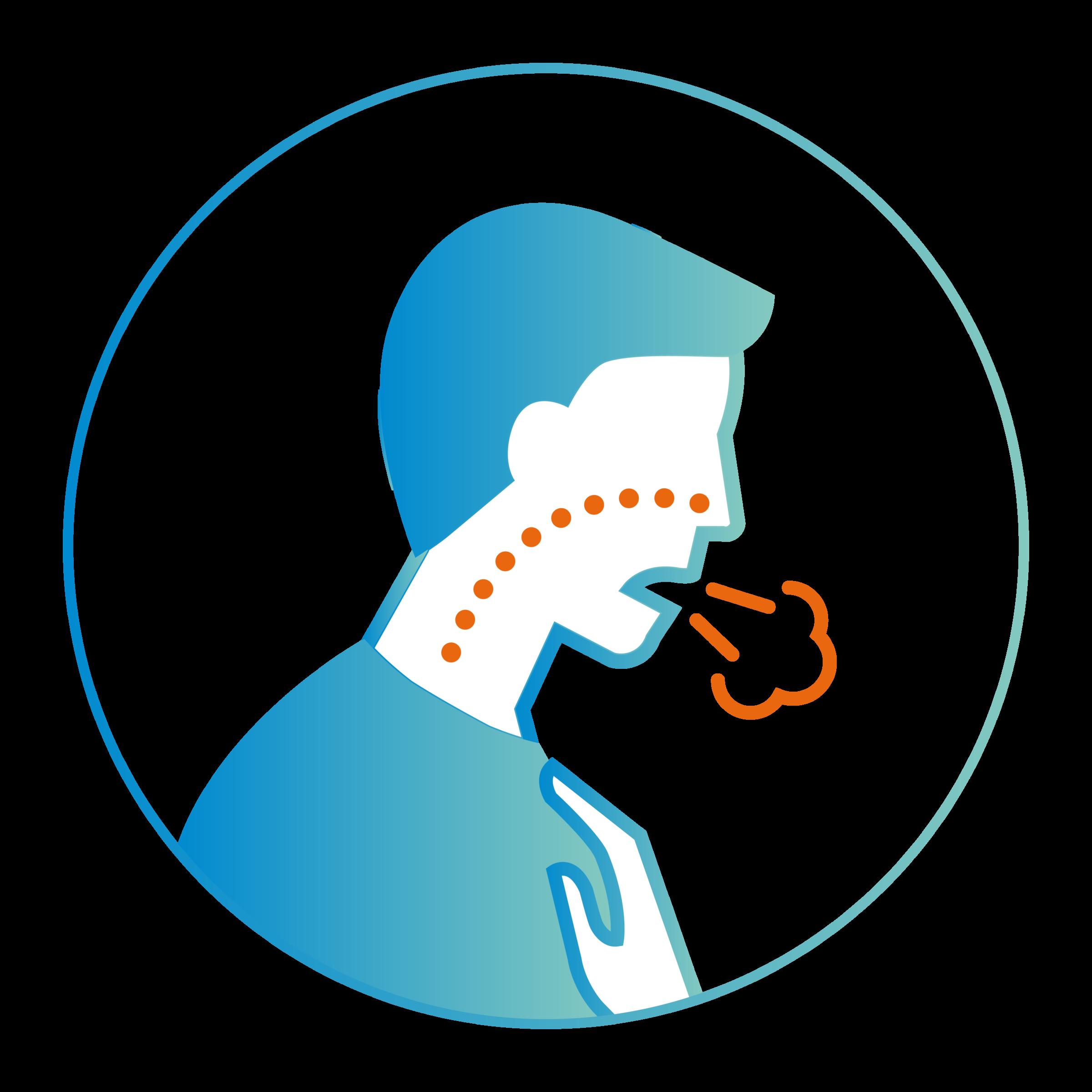Symptômes coronavirus : difficultés respiratoires